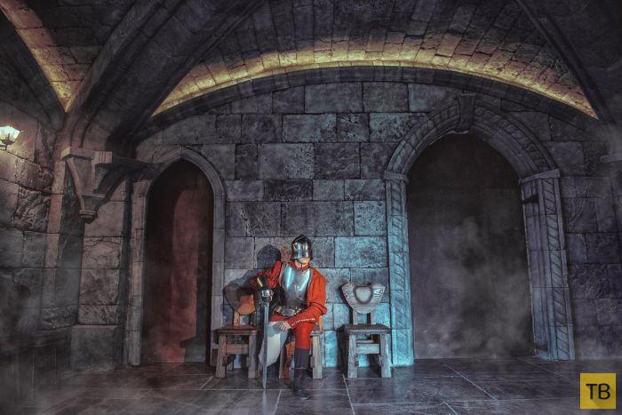 Замок Гарибальди – новая готика в селе Хрящевка Самарской области  (15 фото)