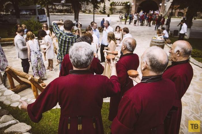 Моя маленькая грузинская свадьба (33 фото)