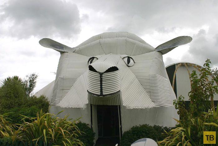 Невероятные и самые необычные дома и здания в мире, которые выглядят как животные! (24 фото)