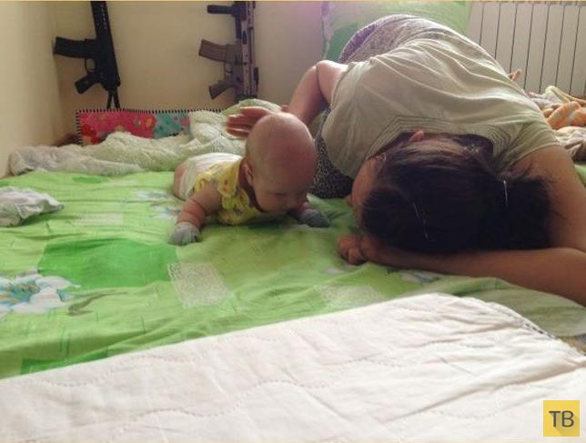 """Что значит """"быть молодыми родителями"""" (16 фото)"""