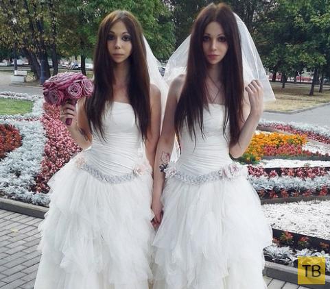 Необычная свадьба в Москве (10 фото)