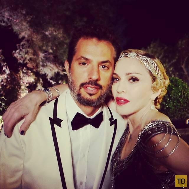 Мадонна отметила 56-й день рождения в стиле Великого Гэтсби (12 фото)