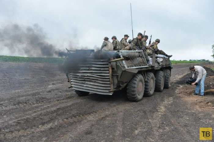 Самодельные броневики украинской армии (20 фото)