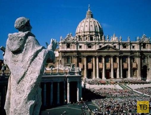 Легенды Ватикана (7 фото)