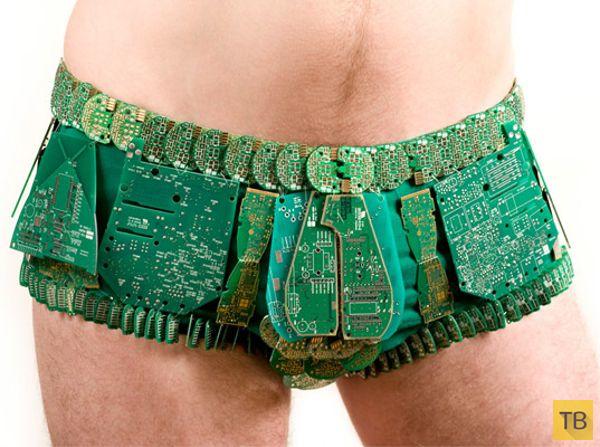 Нижнее белье от сумасшедших дизайнеров (16 фото)
