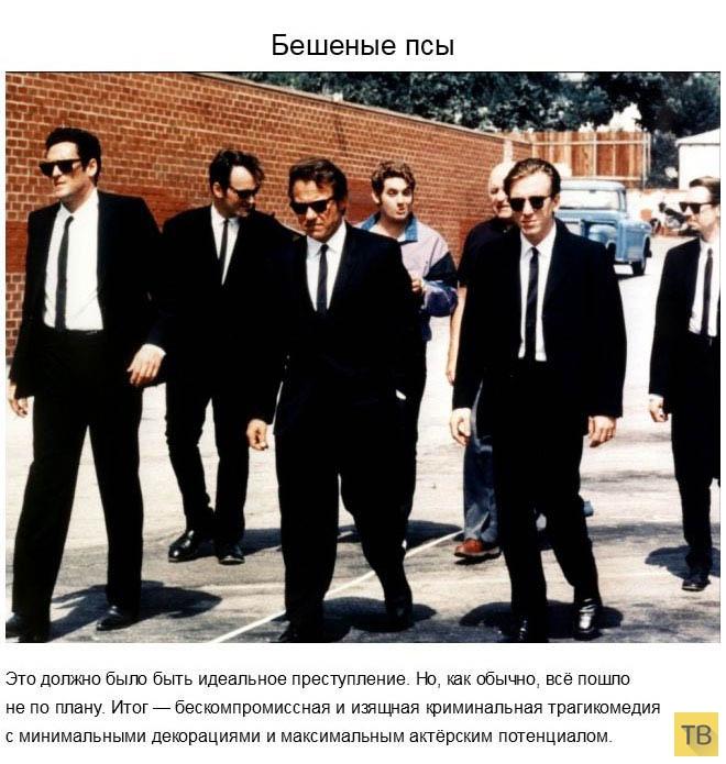Топ 21: Самые захватывающие криминальные кинофильмы (21 фото)