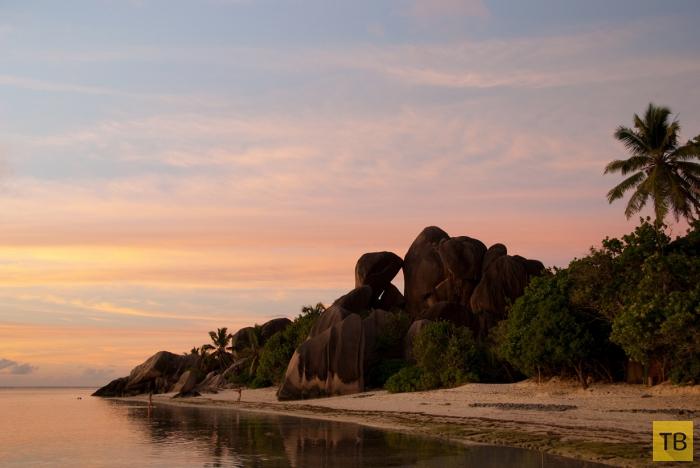 Пляж Анс Сурс д'Аржан - рай на Земле (7 фото)