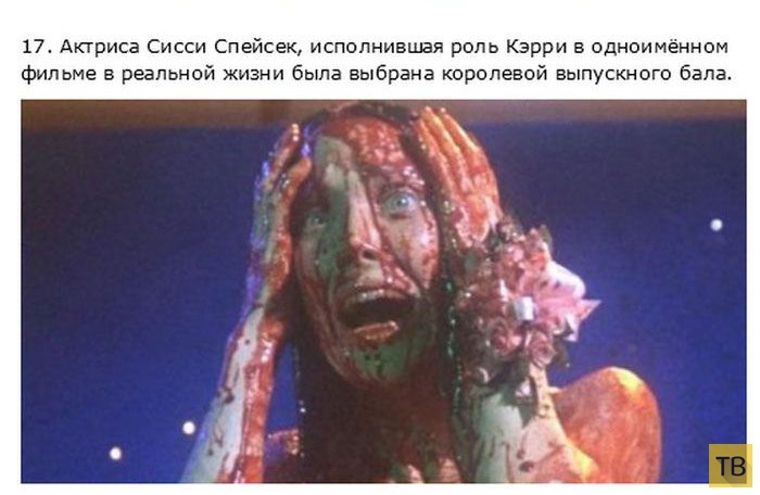 Подборка интересных фактов о создании и съемке известных фильмов ужасов (22 фото)