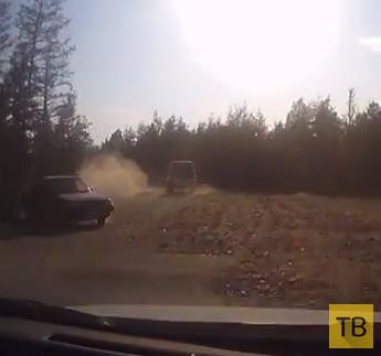 Пьяный водитель не справился с управлением...