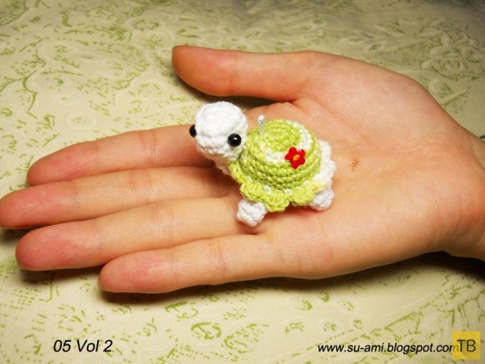 Прикольные вязанные микро-игрушки крючков от вьетнамской компании Suami (27 фото)