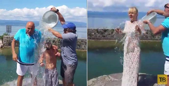 Ice Bucket Challenge: звезды обливаются холодной водой (5 фото + 6 видео)