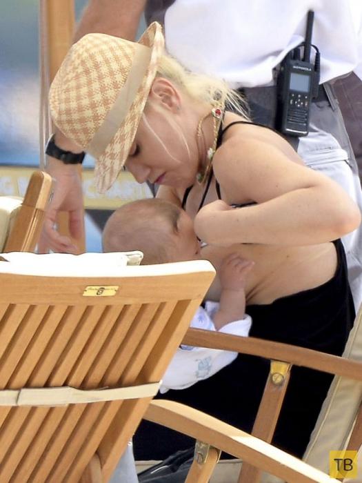Роды пошли на пользу груди Гвен Стефани (10 фото)