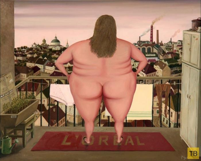 Простые и душевные картины художника Валентина Губарева, которые способны запасть в душу! (22 фото)