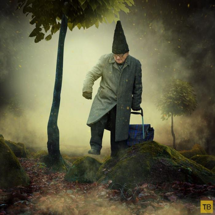 Невероятные работы румынского фотографа и художника Караса Ионуца (46 фото)