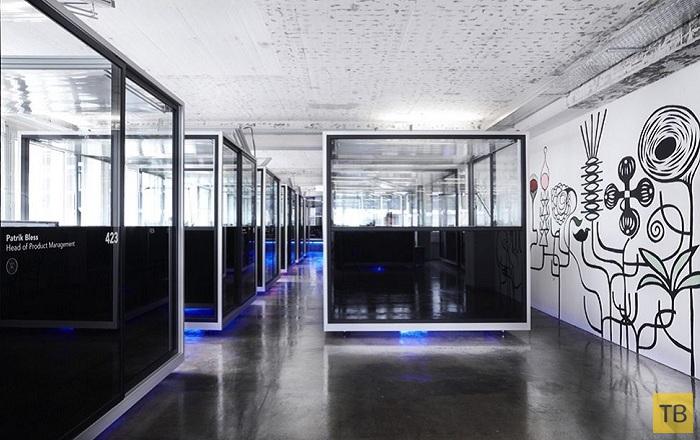Топ 7: Самые оригинальные офисы (14 фото)