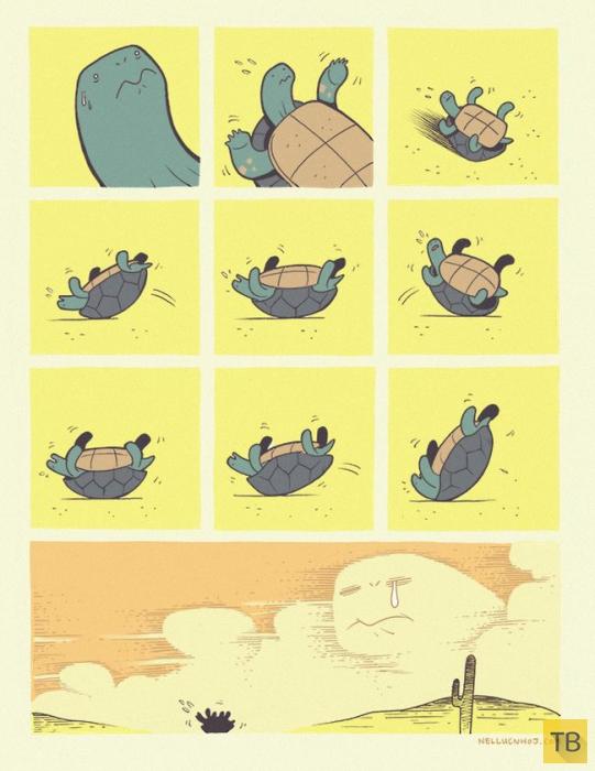 Веселые комиксы и карикатуры, часть 181 (16 фото)