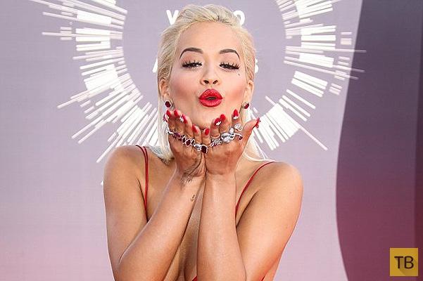 Маникюр Риты Оры для MTV VMA стоил 56 тысяч долларов (7 фото)