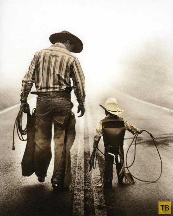 Отцы и дети (18 фото)