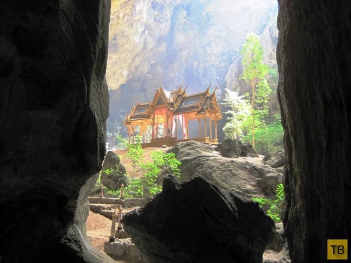 Пещера Прайя Нахон - одна из достопримечательностей Таиланда (8 фото)