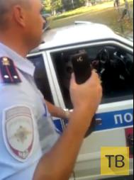 ДПС-ники не церемонились и применили шокер... г. Хабаровск