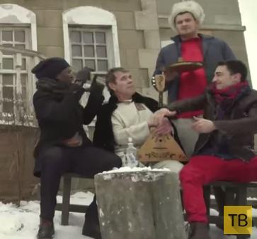 Вечеринка у Булдакова: русские красавицы, медведь...