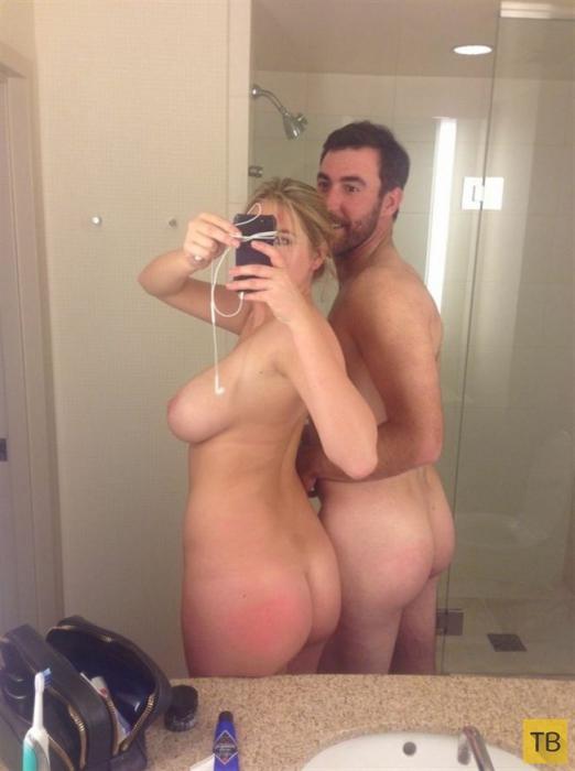 Украденные частные фото голой Кейт Аптон с ее взломанного аккаунта (34 фото)