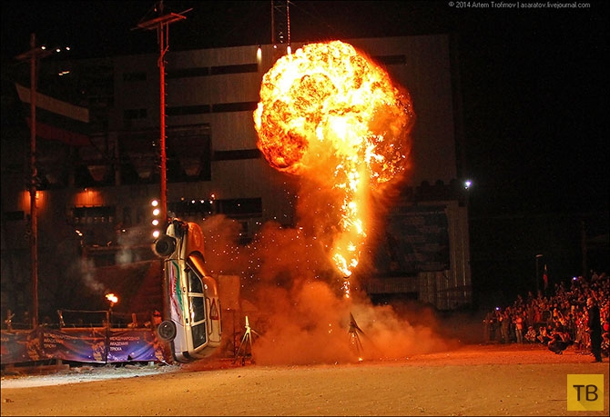 """Международный фестиваль трюкового искусства """"Прометей"""" в Севастополе (55 фото)"""