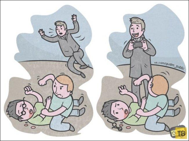 Забавные рисунки московского иллюстратора Антона Гудима (23 фото)