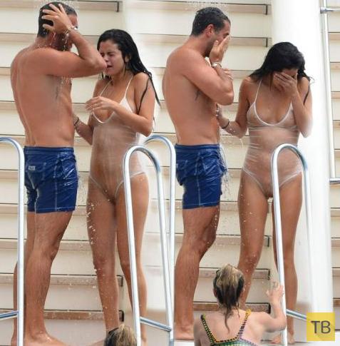 Откровенные фото голой Селены Гомес с ее взломанного аккаунта (7 фото)