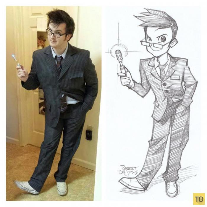 Аниме-персонажи из реальных людей (21 фото)
