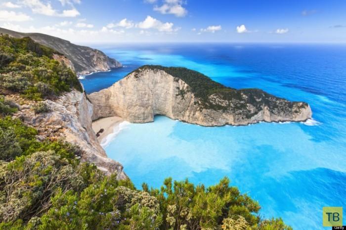 Топ 30: Пляжи с кристально чистой водой (31 фото)