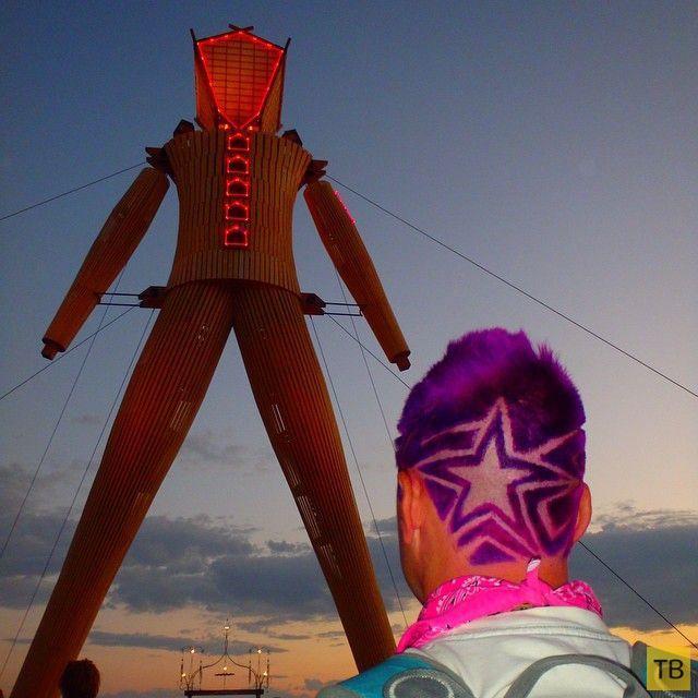 Ежегодный фестиваль Burning Man-2014 в американском штате Невада (52 фото)