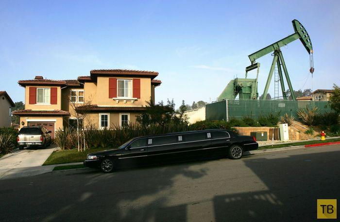 Лос-Анджелес - город нефтяных магнатов (24 фото)