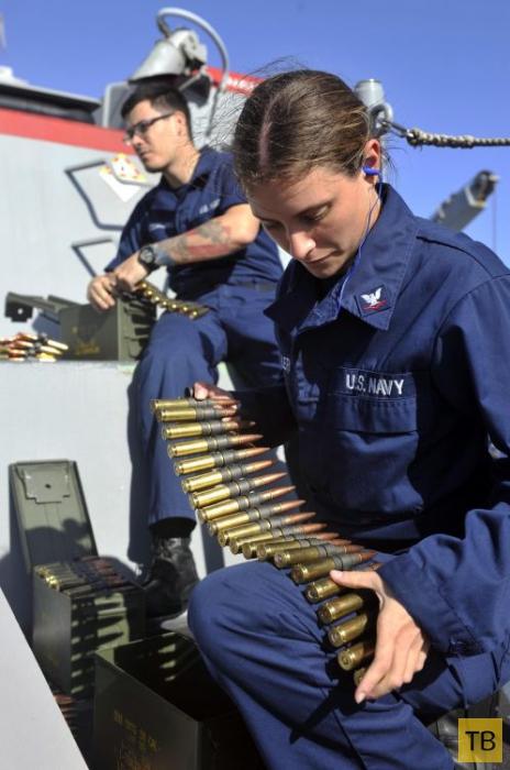 Женщины в форме и с оружием (20 фото)