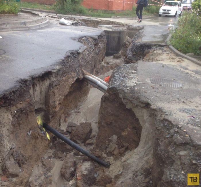 Наводнение в Ростове-на-Дону из-за сильного дождя (43 фото)