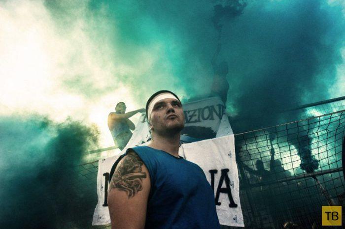 Кальчо флорентино - самая жестокая разновидность футбола (39 фото)