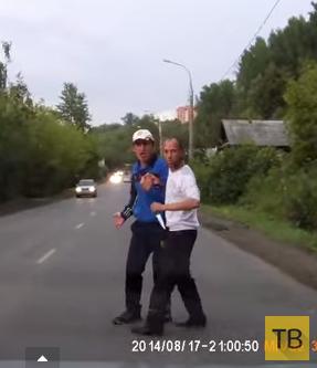 Пьяные разбойники на дороге... г. Пермь