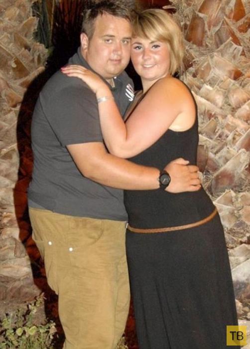 Пара похудела на 60 килограмм (8 фото)