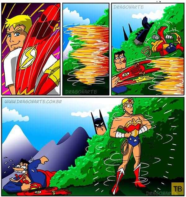 Веселые комиксы и карикатуры, часть 187 (28 фото)
