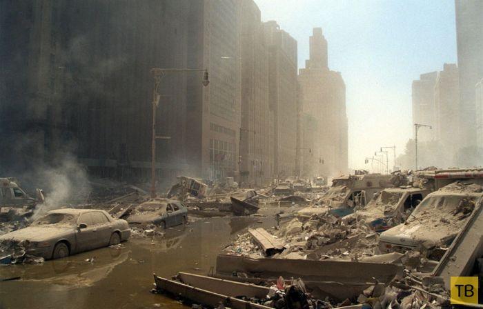 Трагические события 11 сентября 2001 года в США (60 фото)