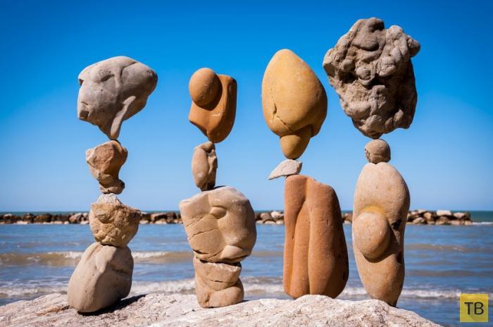 Балансирующие камни Майкла Граба (10 фото)