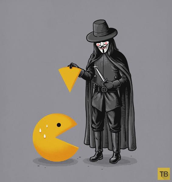 Прикольные и юмористические иллюстрации Бена Чена (22 фото)