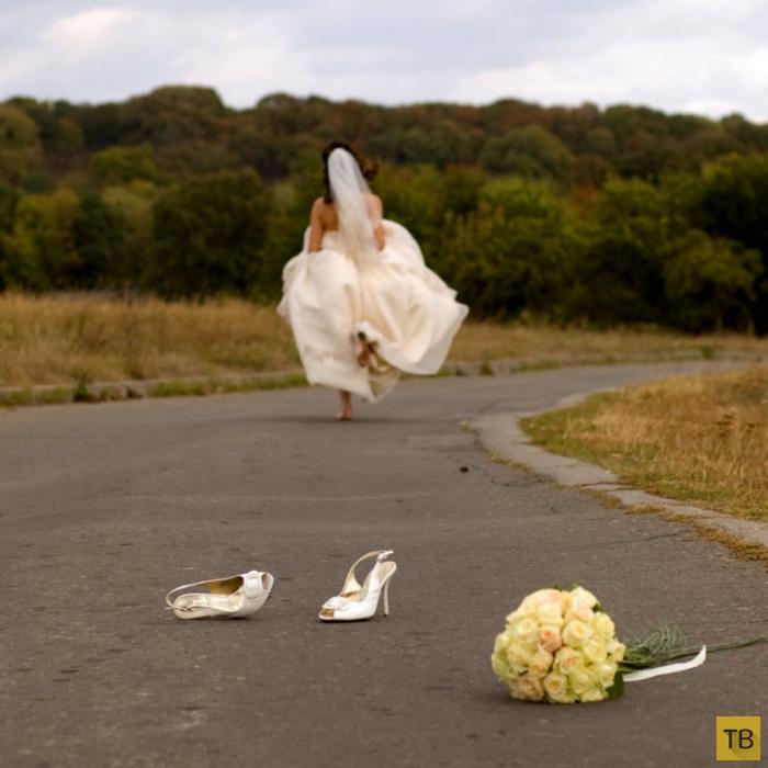 Топ 6: Необычные способы избежать бракосочетания (7 фото)