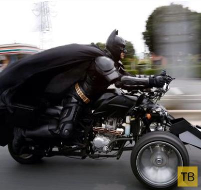 Я бы прокатился на мотоцикле Тибэтмена (6 фото)