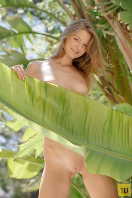 Миленькая девушка с красивой грудью (12 фото)