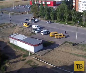 Погоня за пьяным водителем закончилась ДТП, г. Волжский, Волгоградская область