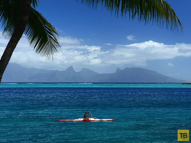 Таити - Рай на Земле (20 фото)