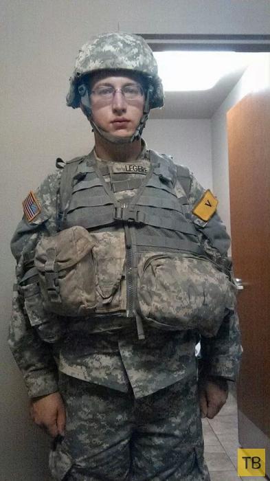 Как армия сделала мужика из американского ботана (12 фото)