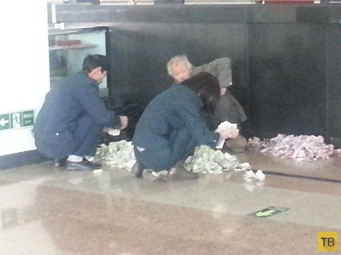 Сколько зарабатывают попрошайки в Пекине (6 фото)
