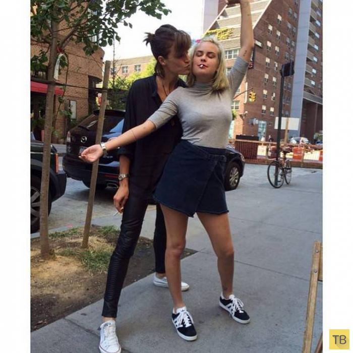Дочери Брюса Уиллиса и Деми Мур позируют (12 фото)